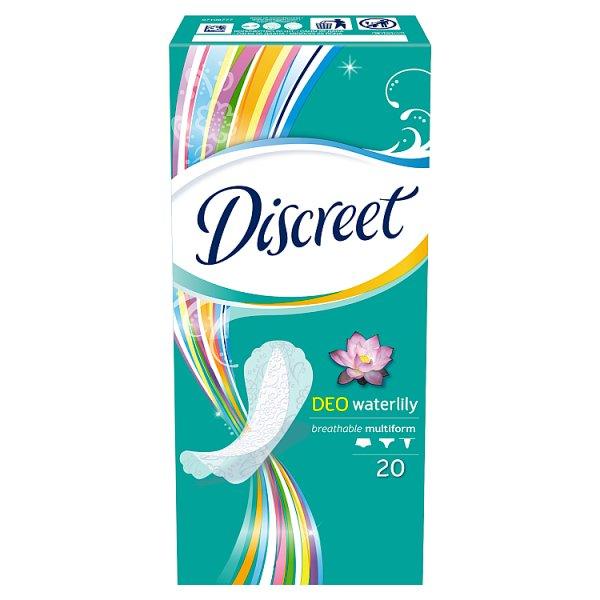 Wkładki Discreet Deo Waterlily Multiform