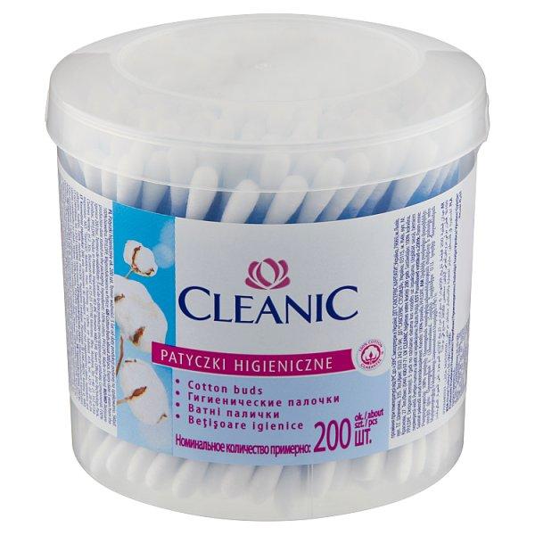 Cleanic Patyczki higieniczne 200 sztuk