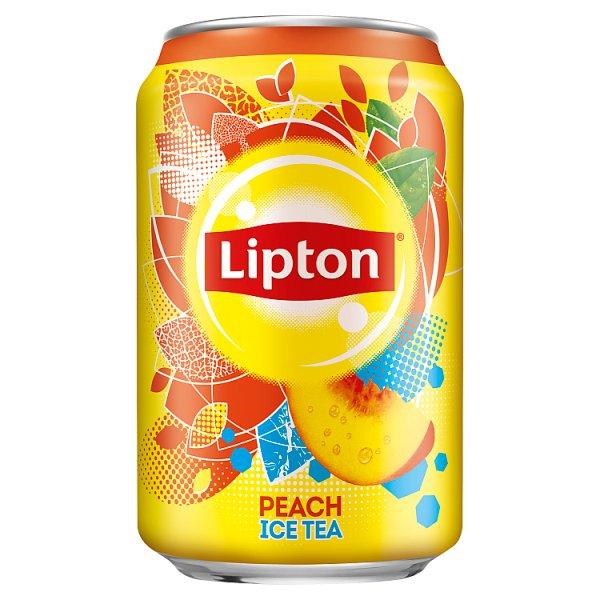Lipton Ice Tea Peach puszka 0,33l
