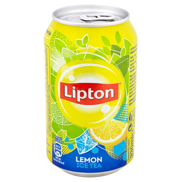 Lipton Ice Tea Lemon Napój niegazowany 330 ml