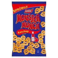 Monster Munch Chrupki ziemniaczane o smaku ketchupowym 100 g
