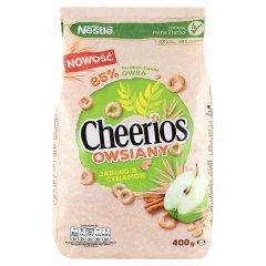 Nestlé Cheerios Owsiany Płatki śniadaniowe jabłko & cynamon 400 g