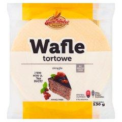 Eurowafel Wafle tortowe okrągłe 130 g