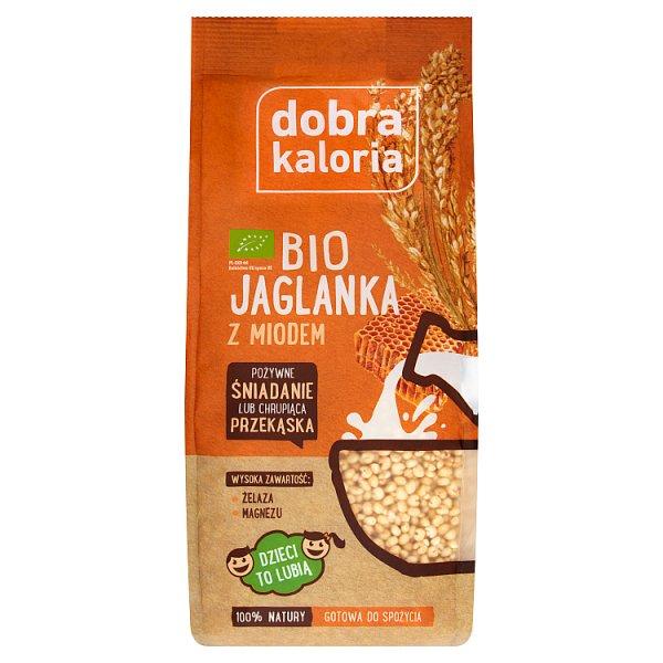 Dobra Kaloria Bio jaglanka z miodem 120 g