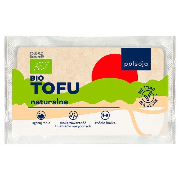 Polsoja Bio tofu naturalne 200 g