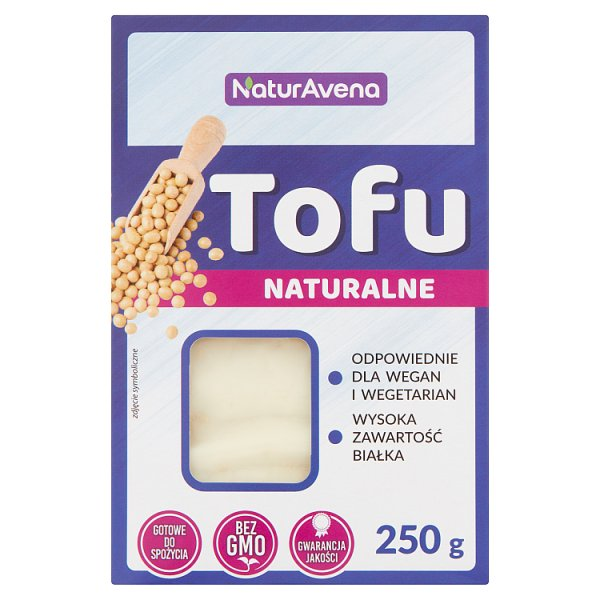 NaturAvena Tofu naturalne 250 g