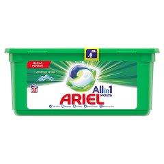 Ariel Allin1 Pods Mountain Spring Kapsułki do prania, 28prań