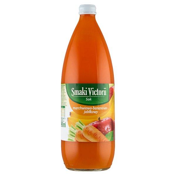Smaki Victorii Sok marchwiowo-bananowo-jabłkowy 990 ml