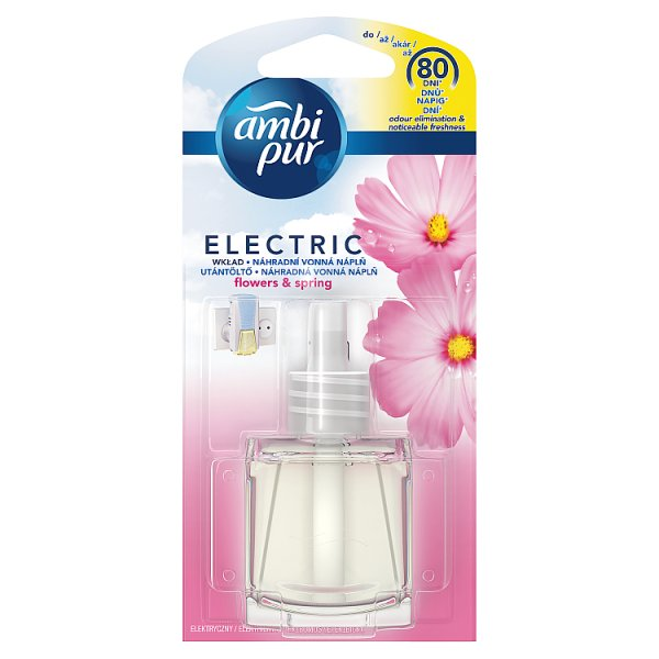 Ambi Pur 3Volution Wkład do elektrycznego odświeżacza powietrza Flowers & Spring 20 ml