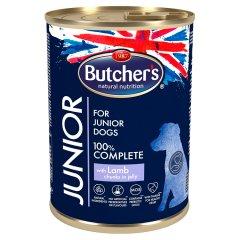 Butcher's Junior Karma dla psów juniorów kawałki w galaretce z jagnięciną 400 g