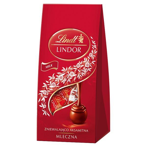 Praliny Lindt  Lindor Milk Bag