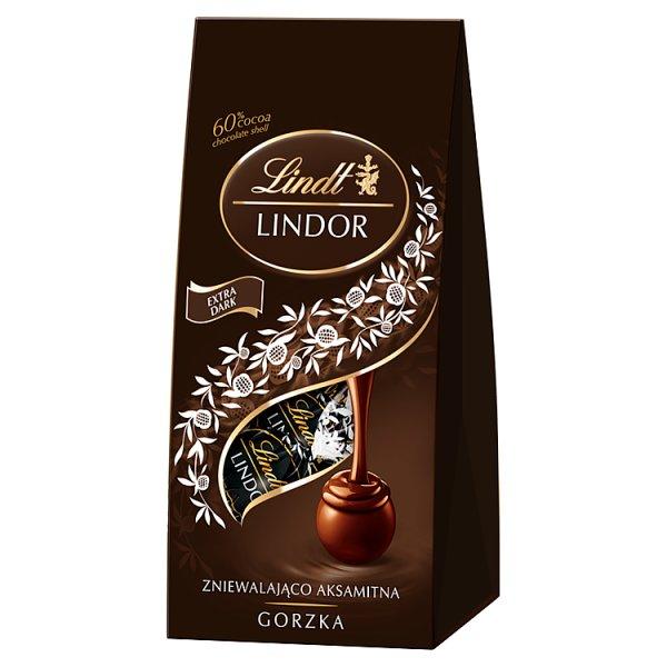 Lindt Lindor Praliny z gorzkiej czekolady 60% kakao 98 g