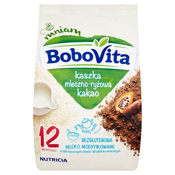 BoboVita Kaszka mleczno-ryżowa kakao po 12 miesiącu 230 g