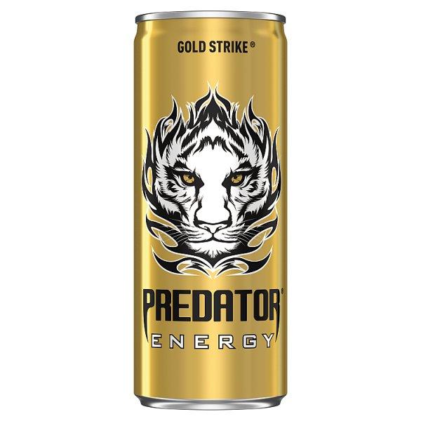 Predator Energy Gold Strike Gazowany napój energetyczny 250 ml