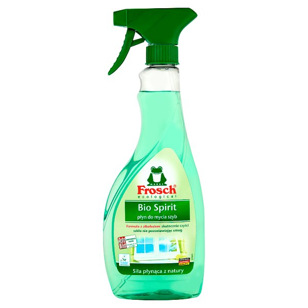 Frosch ecological Bio Spirit płyn do mycia szyb 500 ml