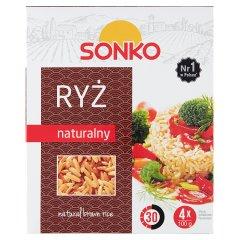 Sonko Ryż naturalny 400 g (4 x 100 g)
