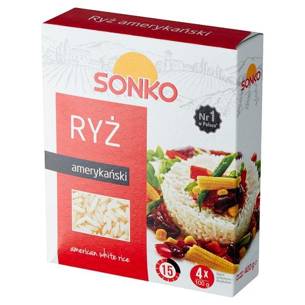 Sonko Ryż amerykański 400 g (4 x 100 g)