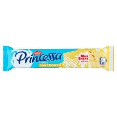 Princessa Kolorowy wafel przekładany mlecznym kremem o smaku bananowym 38 g