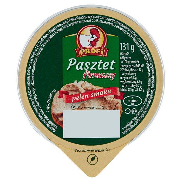 Profi Pasztet firmowy 131 g