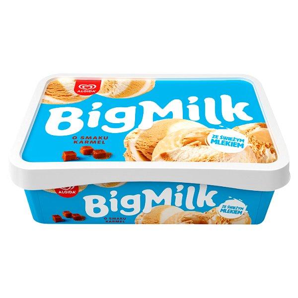 Big Milk Lody o smaku karmel 1000 ml