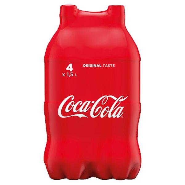 Coca-Cola Napój gazowany 4 x 1,5 l