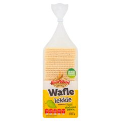 Eurowafel Wafle lekkie 130 g
