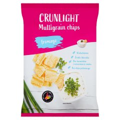 Crunlight Chipsy wielozbożowe fromage 70 g