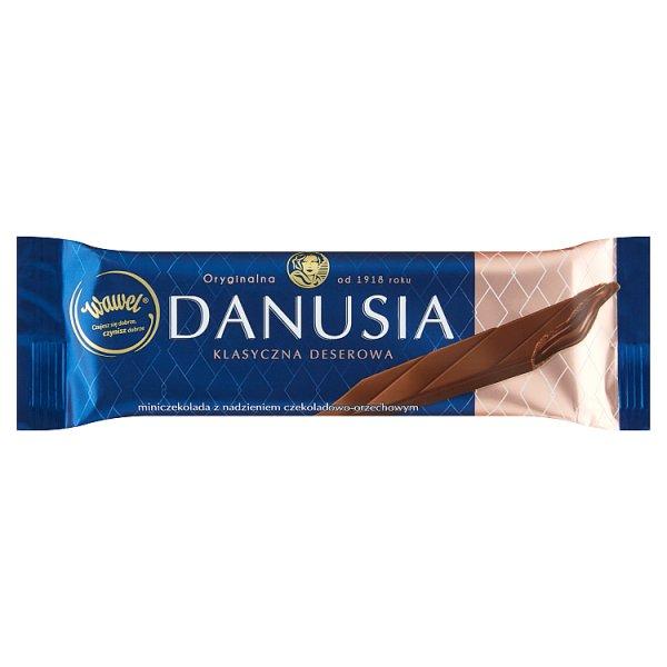 Wawel Danusia Miniczekolada z nadzieniem czekoladowo-orzechowym 38 g