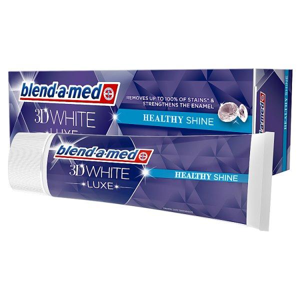 Blend-a-med 3D White Luxe Pasta do zębów 75ml, Healthy Shine