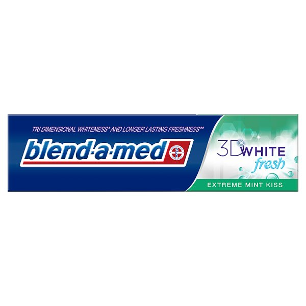 Blend-a-med 3DWhite Fresh Extreme Mint Kiss Pasta do zębów 100 ml