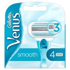 Venus Smooth Ostrza wymienne do maszynki do golenia 4 sztuki