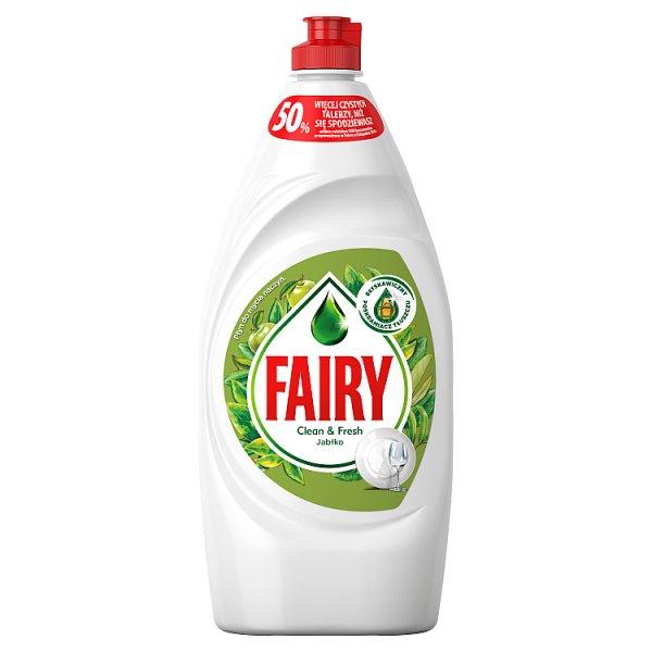 Fairy Clean & Fresh Jabłko Płyn do mycia naczyń 900ml