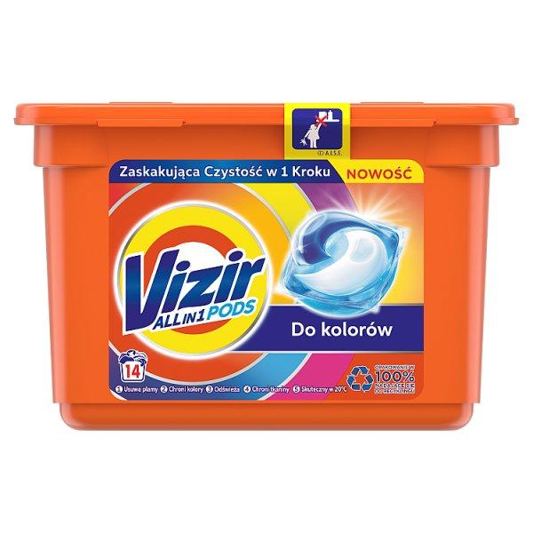 Vizir Allin1 Color Kapsułki do prania, 14prań