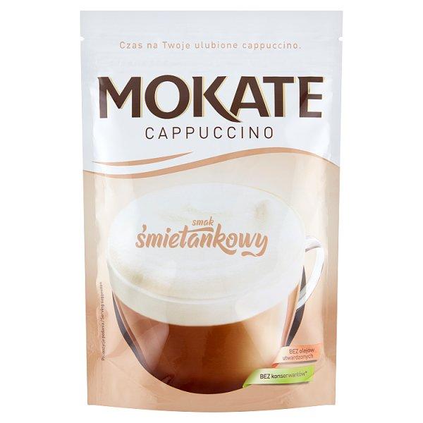 Mokate Cappuccino smak śmietankowy 110 g