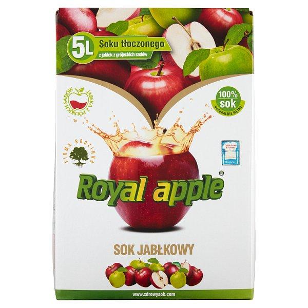 Royal apple Sok jabłkowy 5 l