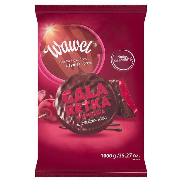 Wawel Galaretka wiśniowa w czekoladzie 1000 g