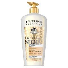 Eveline Cosmetics Royal Snail Intensywnie regenerujący olejkowy balsam do ciała 350 ml