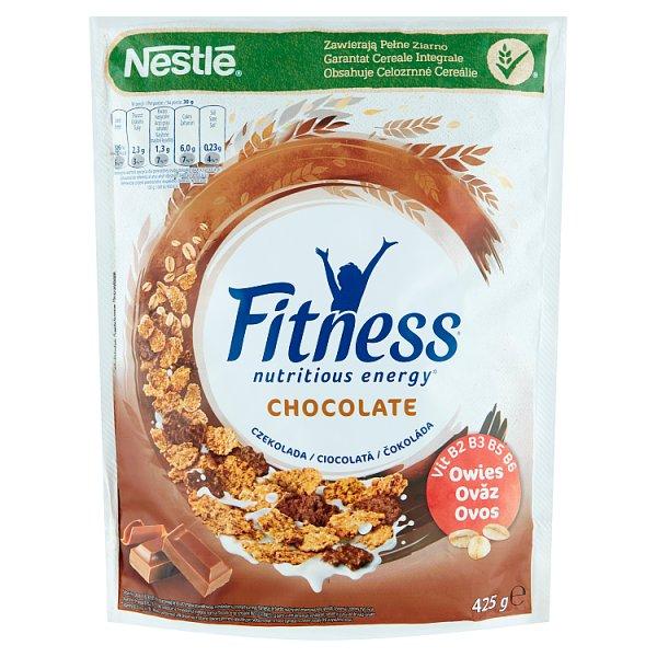 Nestlé Fitness Chocolate Płatki śniadaniowe 425 g