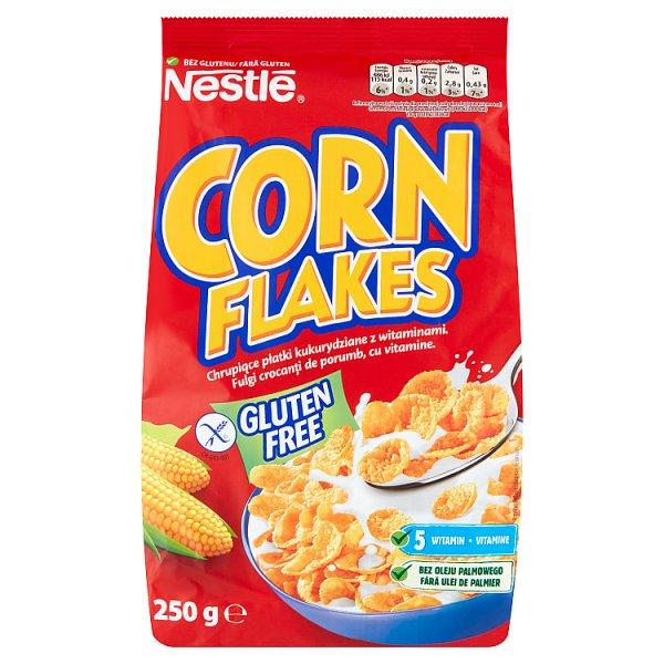 Nestlé Corn Flakes Płatki śniadaniowe 250 g