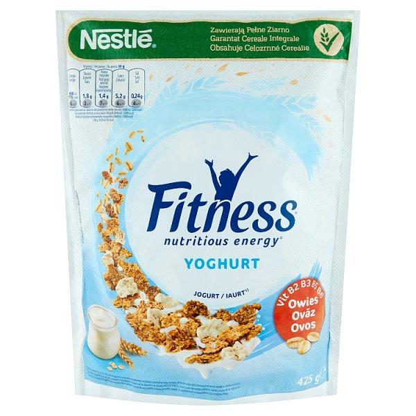 Nestlé Fitness Yoghurt Płatki śniadaniowe 425 g