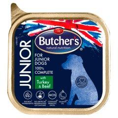 Butcher's Junior Pełnoporcjowa karma dla szczeniąt z indykiem i wołowiną 150 g