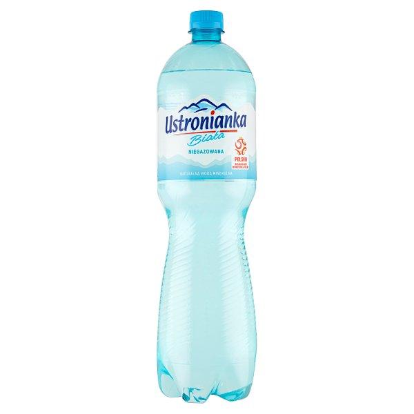 Ustronianka Biała Naturalna woda mineralna niskosodowa niegazowana 1,5 l
