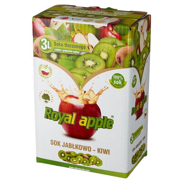 Royal apple Sok jabłkowo-kiwi 3 l