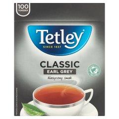 Tetley Classic Earl Grey Herbata czarna aromatyzowana 150 g (100 x 1,5 g)