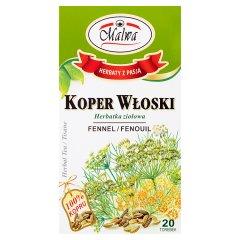 Malwa Herbatka ziołowa koper włoski 30 g (20 x 1,5 g)