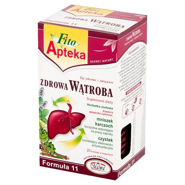 Fito Apteka Suplement diety herbatka ziołowa zdrowa wątroba 40 g (20 x 2 g)