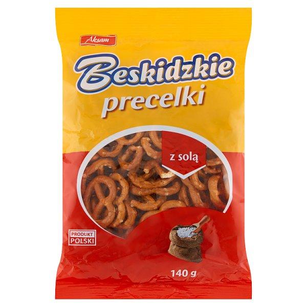 Aksam Beskidzkie Precelki z solą 140 g