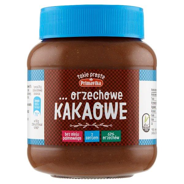 Primavika Pasta orzechowa kakaowa 350 g