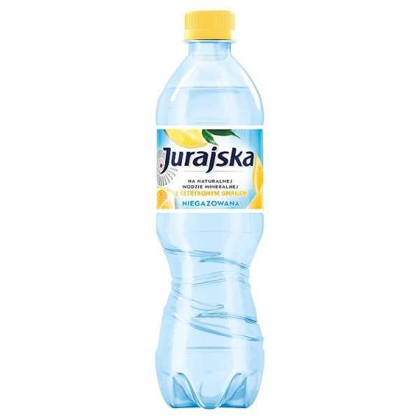 Jurajska Napój niegazowany z cytrynowym smakiem 500 ml