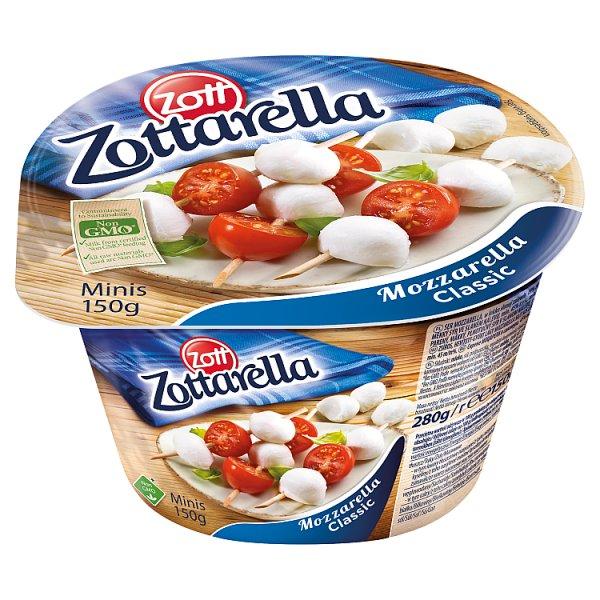 Zott Zottarella Minis Ser mozzarella 150 g